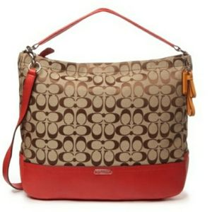 $358. COACH HOBO BAG. F23279